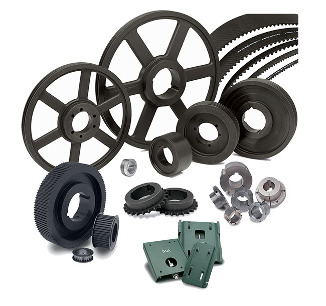 Bushings, Sheaves / Pulleys Beam, Bellows, Chain, Jaw, Diaphragm